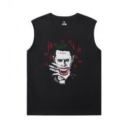 Batman Joker Men'S Sleeveless T Shirts Cotton Marvel Shirt