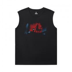 Batman Joker T Shirt Without Sleeves Superhero Tee Shirt