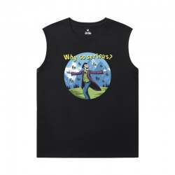 Batman Joker T-Shirt Marvel Sleeveless Running T Shirt