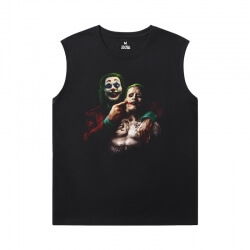 Batman Joker Sleeveless Tshirt Men Superhero Tee