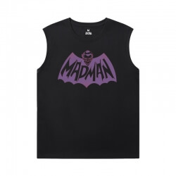 Marvel Shirts Batman Joker Sleeveless Crew Neck T Shirt