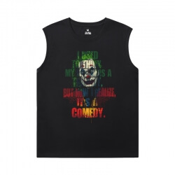 Batman Joker Shirt Superhero Men'S Sleeveless Muscle T Shirts