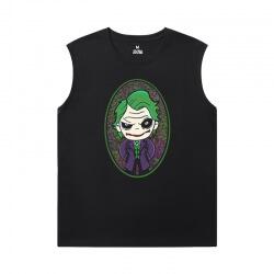 Superhero Tshirts Batman Joker Mens Sleeveless Tshirt