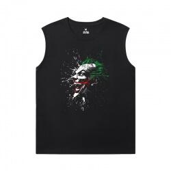 Batman Joker Sleeveless Tshirt For Men Marvel T-Shirts