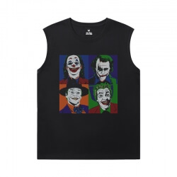Batman Joker Tees Superhero Cool Sleeveless T Shirts