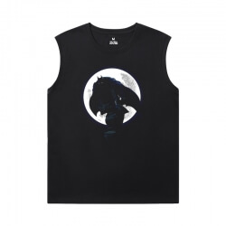 Batman Joker Sleeveless T Shirt Black Marvel T-Shirts