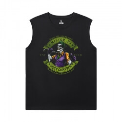 Marvel Tshirt Batman Joker Mens Sleeveless T Shirts