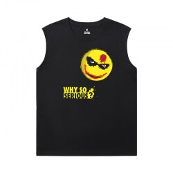 Batman Joker Tees Superhero Sleeveless Shirts Mens