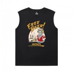 Futurama Sleeveless T Shirt For Gym American Anime Quality T-Shirts