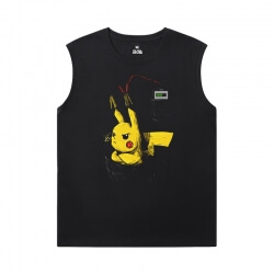 Pokemon T-Shirt Cool Boys Sleeveless T Shirts