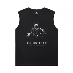 Marvel Tshirts Justice League Batman Sleeveless T Shirt For Gym