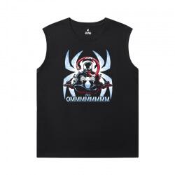 Venom Sleeveless Tee Shirts Mens Marvel T-Shirts