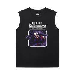 Marvel Venom Printed Sleeveless T Shirts For Mens T-Shirt