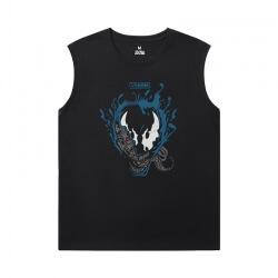 Tshirt Marvel Venom Black Sleeveless T Shirt Mens