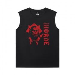 World Of Warcraft Mens Sleeveless T Shirts Blizzard T-Shirts