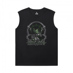 WOW Men'S Sleeveless Muscle T Shirts Blizzard Tee