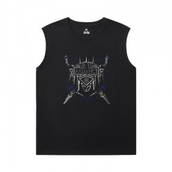 Blizzard Shirts Warcraft Mens XXXL Sleeveless T Shirts