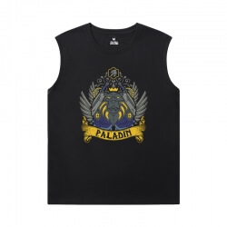 Blizzard Tshirt Warcraft Mens Graphic Sleeveless Shirts
