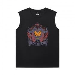 World Warcraft Tee Blizzard Cheap Mens Sleeveless T Shirts