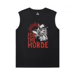 Blizzard Tshirt Warcraft Sleeveless T Shirt For Gym