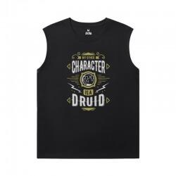 World Of Warcraft Mens Sleeveless Sports T Shirts Blizzard Tees