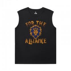 World Of Warcraft Cheap Sleeveless T Shirts Blizzard Shirt
