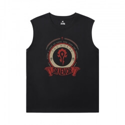 WOW Men'S Sleeveless Graphic T Shirts Blizzard Tee Shirt