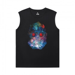 Guardians of the Galaxy Womens Crew Neck Sleeveless T Shirts Marvel Groot Tees