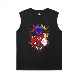 Spider-Man:Homecoming Tshirts Marvel Spiderman Full Sleeveless T Shirt