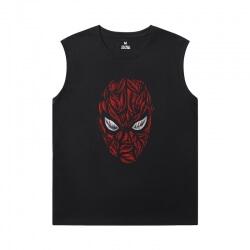 Spiderman Sleeveless Tshirt Mens Marvel Spider-Man:Homecoming T-Shirts