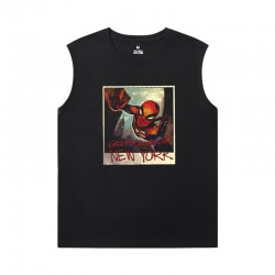 Spider-Man:Homecoming Tshirt Marvel Spiderman Men'S Sleeveless Graphic T Shirts