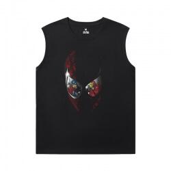 Spiderman Men Sleeveless Tshirt Marvel Spider-Man:Homecoming Shirt