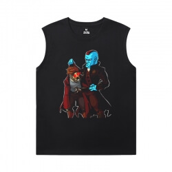 Groot Tshirt Marvel Guardians of the Galaxy Sleeveless T Shirt For Gym