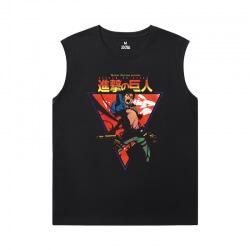Attack on Titan Xxl Sleeveless T Shirts Vintage Anime T-Shirt