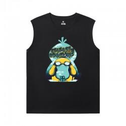 Pokemon Sleeveless T Shirt Black Cool Tees