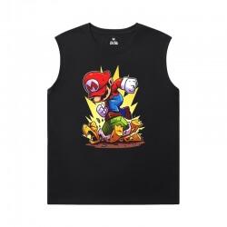 Mario Sleeveless Tshirt Mens Quality Tee