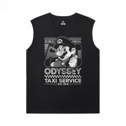 Mario Shirt Quality Sleeveless Cotton T Shirts