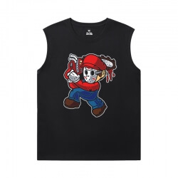 Quality Tshirt Mario Sleeveless T Shirts Online