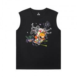 Mario Tee Hot Topic Sleeveless Round Neck T Shirt