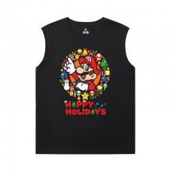 Mario Shirt Personalised Basketball Sleeveless T Shirt