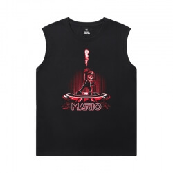 Mario Sleeveless T Shirts For Running Quality T-Shirts