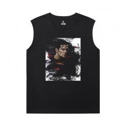 Marvel Tshirt Justice League Superman Sleeveless Sideless Shirt