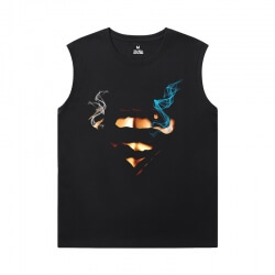 Superman Tees Justice League Marvel Men'S Sleeveless Muscle T Shirts