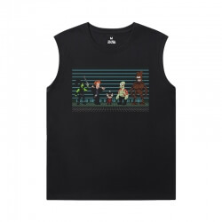 American Anime Futurama Tee Shirt Cotton Boys Sleeveless T Shirts