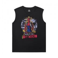 Spiderman Shirt Marvel The Avengers Sleeveless T Shirt For Gym