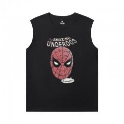 Marvel Spiderman Mens Sleeveless Tshirt The Avengers T-Shirt