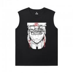 Naruto Sleeveless Tshirt Men Anime Tee