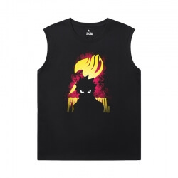 Naruto Cheap Mens Sleeveless T Shirts Japanese Anime Shirt