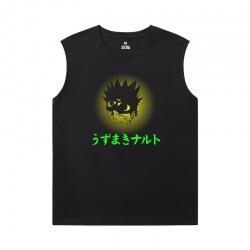 Vintage Anime Tshirts Naruto Sleeveless Tshirt Mens
