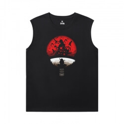 Naruto Sleeveless T Shirt Mens Gym Vintage Anime Tees